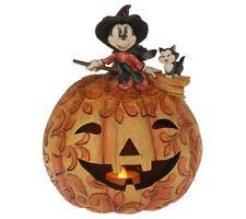 Jim Shore Minnie Pumpkin Witch Spellbinding Halloween Disney Traditions 4008070