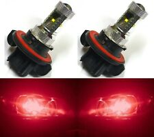 LED 30W 9008 H13 Red Two Bulbs Head Light Replace Lamp Show Use Off Road