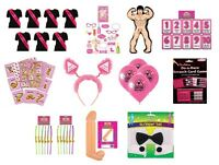 NEW HEN PARTY SASH GAMES BOPPERS WILLY MAN ACCESSORIES SASHES GIRLS NIGHT OUT