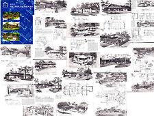 SUCCESSFUL HOME PLANS Pollman HB 1950-75 MODERN ATOMIC RANCH MID CENTURY EICHLER