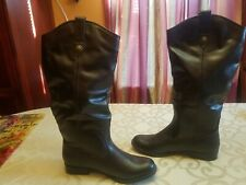 Womens 8.5 american eagle brown boots knee high new