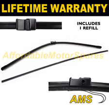 """REFILLABLE FRONT AERO WINDSCREEN WIPER BLADE SINGLE 30 """" FOR AUDI A2 2001 ON"""