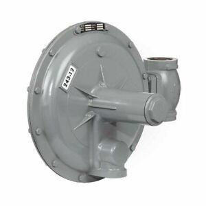 """Sensus 243-12-1 Gas Regulator w/Cadmium Spring (1.5 - 3 PSI) 2"""" NPT"""