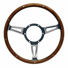"MK1 CADDY Steering Wheel 13"" Classic Wood Rim Mountney Traditional"