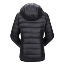 Women Ultra Light Down Duck Jacket Hooded Winter Slim Long Sleeve Trendy Color