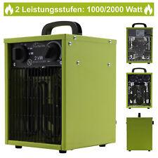 Heizlüfter Elektroheizer Heizung Heizer Schnellheizer Heizgerät Bauheizer 2kW