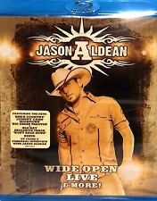 Jason Aldean: Wide Open Live and More,BLU-RAY, NEW ,LIVE CONCERT TOUR,COUNTRY