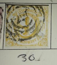 Thurn & Taxis  southern district SG65 fine used cat £75