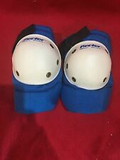 NOS VINTAGE RECTOR BLUE/YELLOW ELBOW PADS USA BMX FREESTYLE