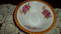 "Vintage Floral Made In Japan Serving Decorative Bowl Lusterware 7"" Diameter-Nice"