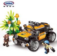 Baukästen Xingbao Spielzeug Dschungel Geländewagen Technologie Modell 720PCS