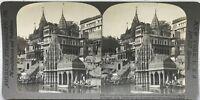 India Varanasi India Benares Foto Stereo Vintage Analogica