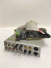 Terratec DMX 6Fire 24/96 PCI Sound Card Module, I/O Device & Ribbon Cable TESTED