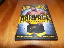 KING OF THE CAGE RAMPAGE BIRTH OF A CHAMPION Mixed Martial Arts Fighter DVD NEW