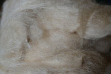 Wild Tussah Silk Fiber Bleached 2 oz