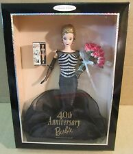 40th Anniversary Barbie Doll Celebrations 40 Years of Dreams! Hold 40 Roses New
