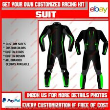 Custom Made Motorbike Racing Motorcycle Riding Leather Protective Suit CE