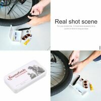 Flat Rubber Tire Tyre Tube Patch Glue Cycling Bicycle Bike Repair Fix Kit HA