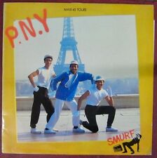 Tour Eiffel Maxi 45 tours P.N.Y. Smurf 1984