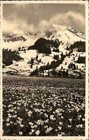 Hindelang Bayern Schwaben Allgäu AK 1953 Oberjoch Allgäuer Alpen Iseler gelaufen