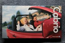 1997 Volkswagen CABRIO New Car Introduction VHS Video Manual VW GOLF
