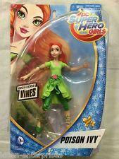 Dc Super Hero Girls Poison Ivy Figurine 15cm Mattel