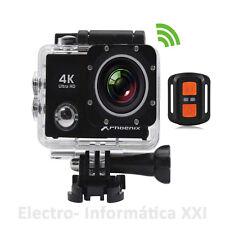 Vídeo Camara sport acuatica sumergible 30 m Wifi 2.4Ghz ios android 4K 16mpx