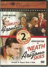 JOHN WAYNE - THE LAWLESS FRONTIER & NEATH THE ARIZONA SKIES -DVD