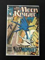 MARC SPECTER MOON KNIGHT #4 MARVEL COMICS 1989 NM NEWSSTAND EDITION