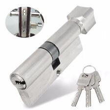 Anti Snap Euro Cylinder Lock Barrel Thumb Turn Security Sliding Door Gate Lock