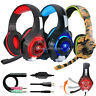 Pro Gaming Headset With Mic XBOX One Wireless PS4 Headphones Microphone Beat