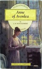 Anne of Avonlea  by L.M. Montgomery-1995 Paperback-Wordsworth Classics