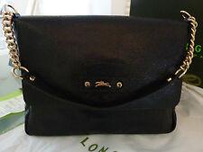 Longchamp Tasche, Leder, schwarz NEU! Original!