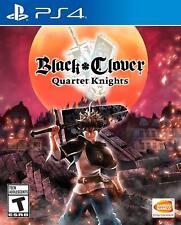 Black Clover: Quartet Knights (Sony PlayStation 4, 2018)