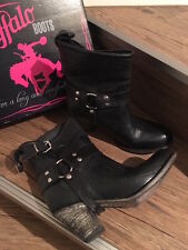 ✭✭✭✭✭Buffalo Boots - mexicana -  Cowboyboots Gr.40 Farbe: Schwarz