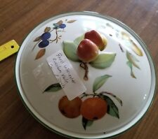 Royal Worcester Evesham Vale covered vegetable dish