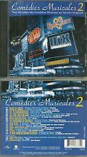 CD - COMEDIES MUSICALES avec NOTRE DE DAME DE PARIS, ROMEO ET JULIETTE, TYCOON