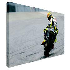 Valentino Rossi Moto Gp Bike - Canvas Wall Art Picture Print