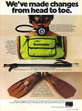 1979 Vintage AMF Swimaster Mini Magnum Speargun SCUBS Diving PRINT Dive AD T