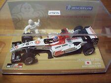 1/43 BAR 2004 HONDA 006 TAKUMA SATO MICHELIN BOX Lucky Strike le decalcomanie Giappone GP