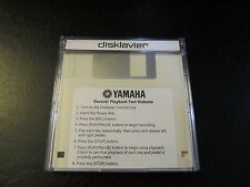Yamaha Disklavier Player Piano -  Record/Playback Test Disk Preformatted to eSeq