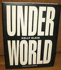 SIGNED Kelly Klein Under World Bruce Weber Richard Avedon Nan Goldin Sally Mann