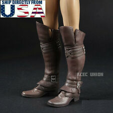 1/6 Assassin's Creed Leather Boots Roman Soldier Armor For Hot Toys PHICEN USA