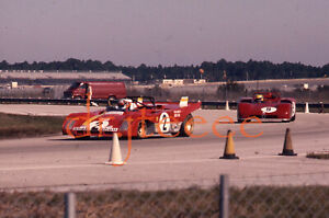 1972 DAYTONA 6 Mario Andretti FERRARI 312 PB - 35mm Racing Slide