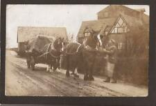More details for cheshire-industry-the mill-heatley-lymm-heavy horses. warrington 1905. rp.
