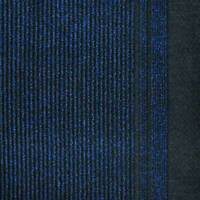 Hallway Runner Carpet Rug Blue 68cm Wide Rubber Backed Typhoon Per Metre Floor