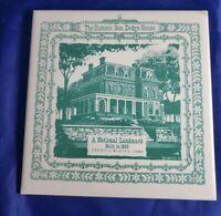 Historic Dodge House National Landmark Council Bluffs IA Ceramic Tile Berggren