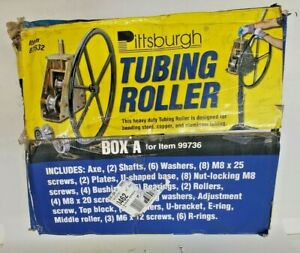 PITTSBURG TUBING ROLLER + WHEEL, MODEL NO. 99736