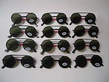 LOT of (12) DWAYNE WAYNE retro style SUNGLASSES for KIDS new LENS FLIP UP & DOWN