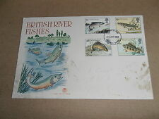 First Day Covers - British River Fisheries - 1983